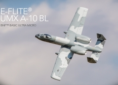 E-flite® UMX A-10 BL, 562mm, AS3X, BNF Basic Ultra Micro