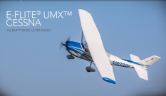E-flite® UMX Cessna 182 BNF AS3X Basic Ultra Micro