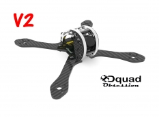 Dquad Obsession V2 - FPV Frame - 210mm - 5